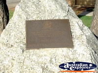 Kerang Memorial Rock . . . CLICK TO ENLARGE