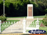 Memorial in Kerang . . . CLICK TO ENLARGE