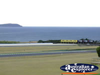 Race Track at Phillip Island . . . CLICK TO ENLARGE