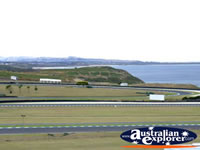 View of Phillip Island Race Track . . . CLICK TO ENLARGE