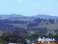 Leongatha View from Town . . . CLICK TO ENLARGE