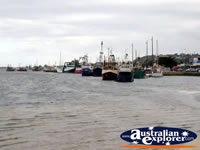 Lakes Entrance Waterfront with Boats . . . CLICK TO ENLARGE