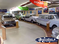 Car Display inside Echuca Holden Museum . . . CLICK TO ENLARGE