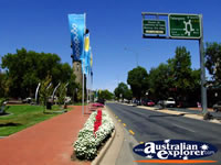 Wodonga Street and Path . . . CLICK TO ENLARGE