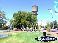 Wodonga Water tower . . . CLICK TO ENLARGE