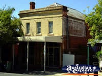 Building in Yackandandah . . . CLICK TO ENLARGE