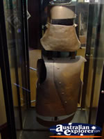 Beechworth Courthouse Ned Kelly Body Armour . . . CLICK TO ENLARGE