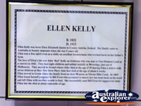 Beechworth Courthouse Ellen Kelly Display . . . CLICK TO ENLARGE