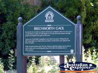 Beechworth Gaol . . . CLICK TO ENLARGE