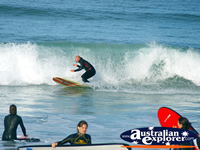 Surfing at Apollo Bay . . . CLICK TO ENLARGE