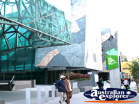 Funky Shot of Federation Square . . . CLICK TO ENLARGE