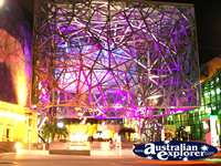 Night Shot of Federation Square . . . CLICK TO ENLARGE