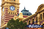 Flinders Street Station Clock Tower . . . CLICK TO ENLARGE