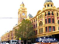 Flinders Street Station from the Street . . . CLICK TO ENLARGE