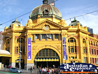 Flinders Street Station in Melbourne . . . CLICK TO ENLARGE
