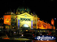 Flinders Street Station at Night . . . CLICK TO ENLARGE