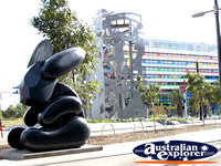 Great shot of sculpture on Harbour Esplanade . . . CLICK TO ENLARGE