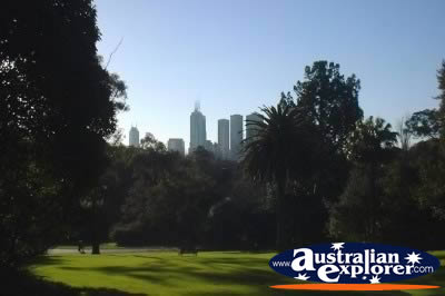 The Landscape of Melbourne City . . . VIEW ALL MELBOURNE (BOTANICAL GARDENS) PHOTOGRAPHS