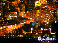 Melbourne Observation Deck at Night . . . CLICK TO ENLARGE