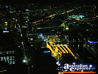 Amazing view over all of Melbourne from Observation Deck . . . CLICK TO ENLARGE