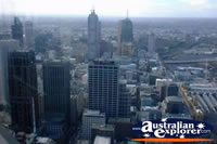 View from Melbourne Rialto Tower . . . CLICK TO ENLARGE