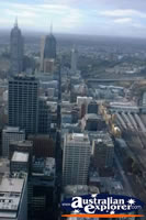 Melbourne Brids Eye View from Rialto Tower . . . CLICK TO ENLARGE