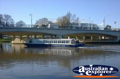 Melbourne South Yarra Boat and Bridge . . . VIEW ALL MELBOURNE (SOUTH YARRA) PHOTOGRAPHS