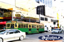 Melbourne City Tram and Traffic