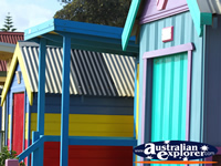 Beach Huts Closeup . . . CLICK TO ENLARGE