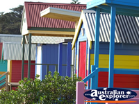 Pretty Beach Huts in Mornington . . . CLICK TO ENLARGE