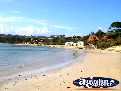 Mornington Mills Beach View . . . CLICK TO VIEW ALL MORNINGTON POSTCARDS