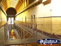 Platforms in the Old Melbourne Gaol . . . CLICK TO ENLARGE
