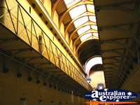 Rows of Cells in Old Melbourne Gaol . . . CLICK TO ENLARGE