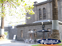 Cafe at the Old Melbourne Gaol . . . CLICK TO ENLARGE