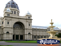 Royal Exhibition Building from Entrance . . . CLICK TO ENLARGE