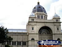 Royal Exhibition Building . . . CLICK TO ENLARGE