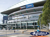 Telstra Dome Entrance . . . CLICK TO ENLARGE
