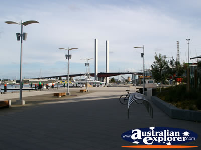 Victoria Harbour Boardwalk . . . VIEW ALL MELBOURNE (VICTORIA HARBOUR) PHOTOGRAPHS