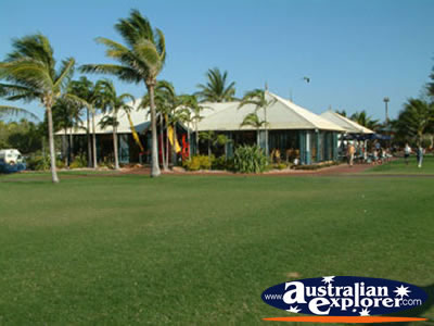Broome Coffee Shop Cable Beach . . . CLICK TO VIEW ALL BROOME POSTCARDS