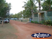 Caravan Park at Eighty Mile Beach  . . . CLICK TO ENLARGE