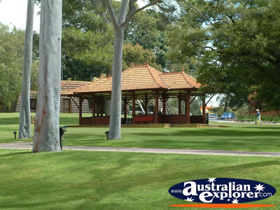 Gazebos in Perth . . . CLICK TO VIEW ALL PERTH POSTCARDS
