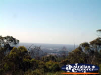 View Of Perth From Jarrahdale . . . CLICK TO ENLARGE