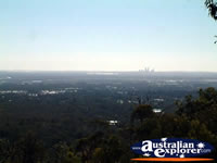 View From Jarrahdale Of Perth . . . CLICK TO ENLARGE
