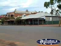View of Coolgardie Buildings from the Street . . . CLICK TO ENLARGE