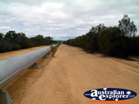 Water Pipeline Outside Coolgardie . . . CLICK TO ENLARGE