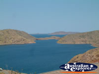 Landscape of Lake Argyle . . . CLICK TO ENLARGE