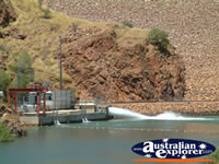 Lake Argyle Hydro Electric Station . . . CLICK TO ENLARGE