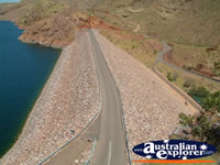 Lake Argyle Ord Dam . . . CLICK TO ENLARGE