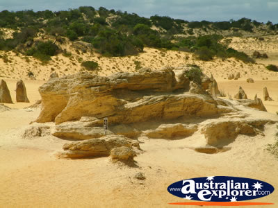 Cervantes the Pinnacles Formation . . . CLICK TO VIEW ALL CERVANTES POSTCARDS