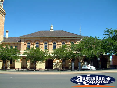 POST & TELEGRAPH OFFICE IN KALGOORLIE PHOTOGRAPH, POST